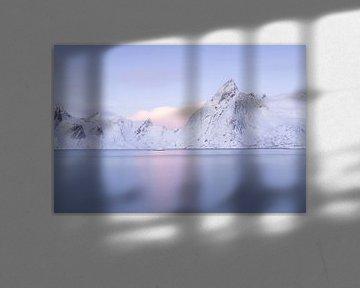 Paarse bergen van Charlotte Jalvingh