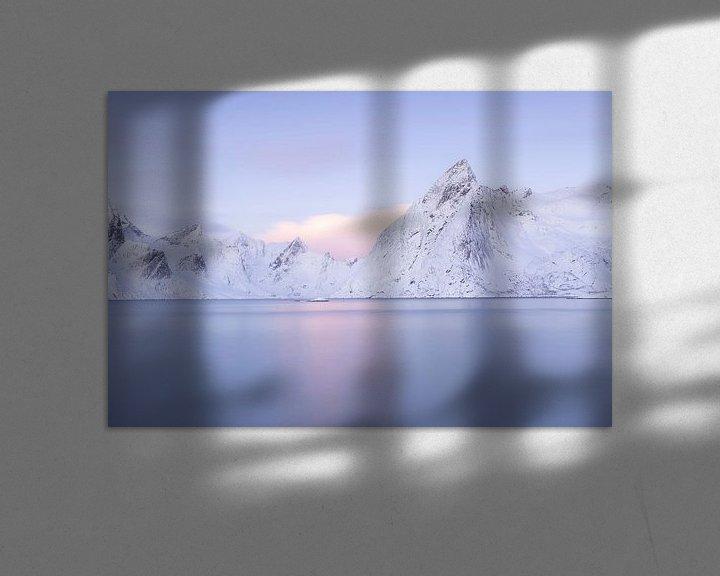Sfeerimpressie: Paarse bergen van Charlotte Jalvingh