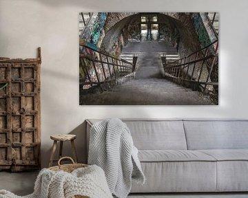 Urbex-Treppe von Sasja van der Grinten