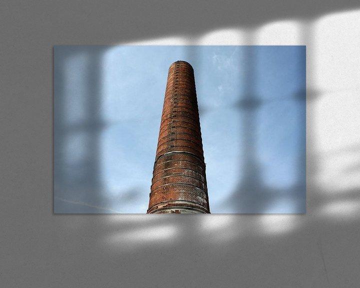 Beispiel: Schornstein der Zuckerfabrik Groningen von Sander de Jong