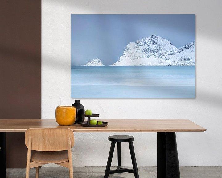 Sfeerimpressie: Kustlandschap in Noorwegen van Charlotte Jalvingh