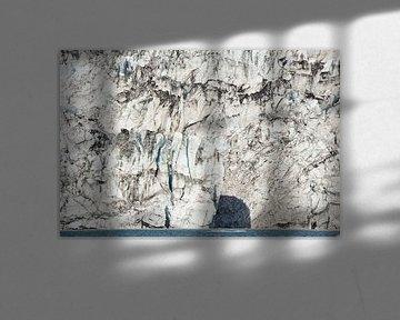 Gletsjerwand - IJsland van Barbara Brolsma
