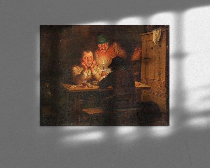 Beispiel: Der Brief, um 1600 von Atelier Liesjes