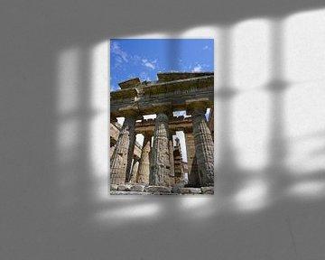 Griekse tempel in Italië van Dominic Corbeau
