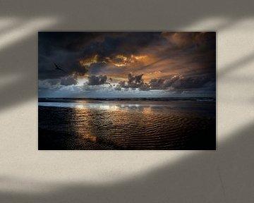 Zonsondergang van Arjan Boer