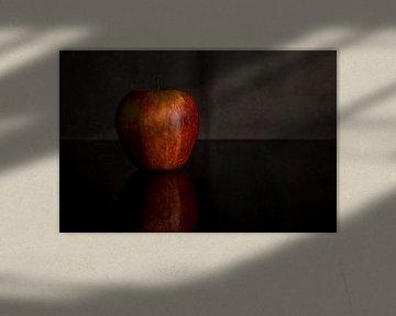 stilleven van rode appel