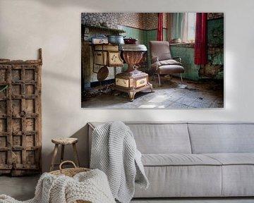 Urbex: Keuken van Carola Schellekens