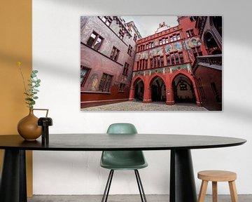 Basler Rathaus in der Schweiz von Joost Adriaanse