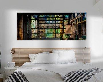 Industrial Green van Caroline Boogaard