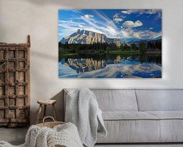 Rustig bergmeer bij Jasper van Reinhard  Pantke