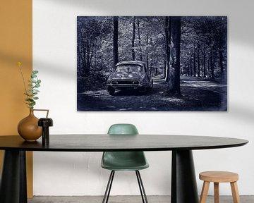 Citroën DS 23 Pallas Retro Blau von Wim Schuurmans