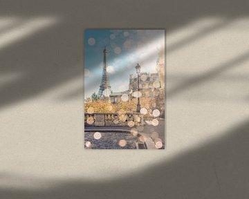 Lichten op Parijs van Manjik Pictures