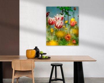 Leuchtende Frühlingsfarben von Corinne Welp