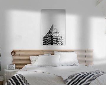 Blaaktoren Rotterdam van Daan Nieuwland