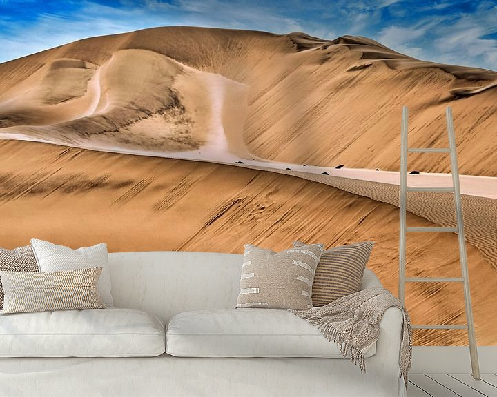 Beispiel fototapete: Schönheit der Namib Wüste, Namibia von W. Woyke