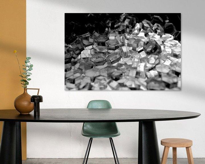 Beispiel: Serie Hexagon - Kristall Licht von WijlensAanDeWand