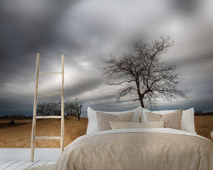 Sfeerimpressie behang: Duinlandschap van Mark Bolijn