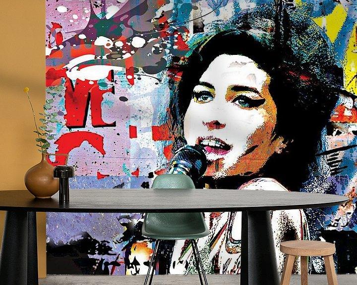 Impression: Amy Winehouse Rockstar sur PictureWork - Digital artist