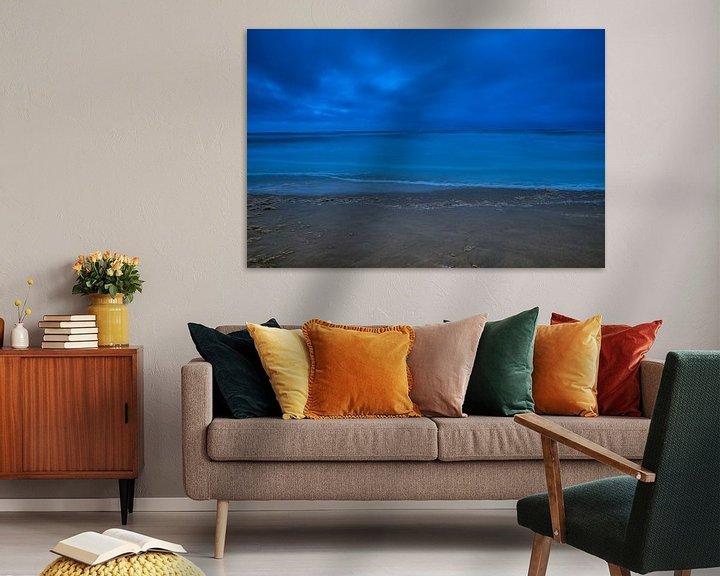 Sfeerimpressie: Duistere Noordzee III van Evert Jan Luchies