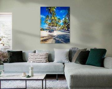 Secret Beach, Sosua, Dominikanische Republik von Tonny Visser-Vink