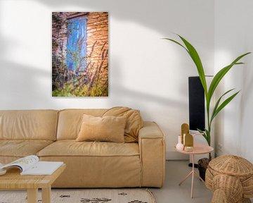 Ausblick mit Lavendel von Tonny Visser-Vink