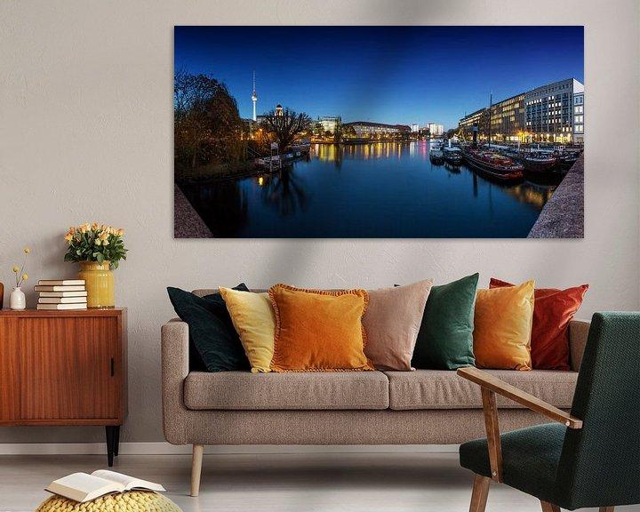 Impression: Port des musées à Berlin (Panorama) sur Frank Herrmann