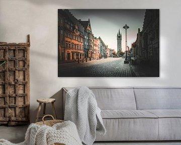 Stadt Straubing in Niederbayern von Thilo Wagner