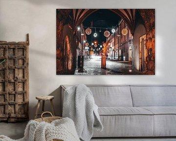 Nacht in der Stadt Straubing von Thilo Wagner