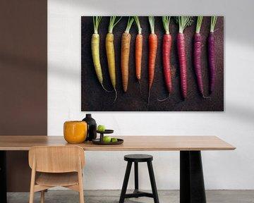 SF 12557588 Fel gekleurde wortels van BeeldigBeeld Food & Lifestyle