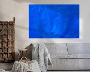 Licht reflecties in de zee van Beschermingswerk voor aan uw muur