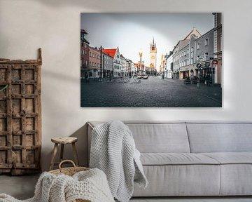 Straubing Stadtplatz Bayern Niederbayern von Thilo Wagner