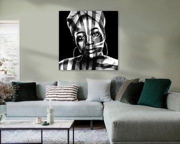 Beauté Africaine von Marja van den Hurk