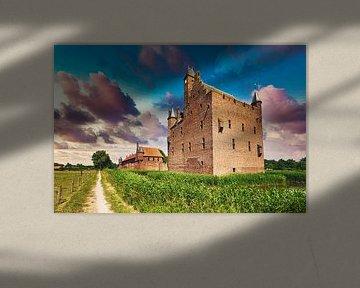 Schloss Doornenburg Niederlande von Hilda Weges
