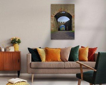 Schloss mit Blick auf das Meer von Hannon Queiroz