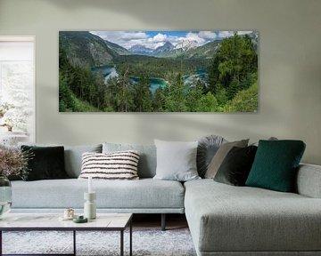 Bergmeer in de Alpen van Bob de Bruin