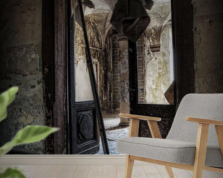 Beispiel fototapete: Verlassenes Kloster von Eus Driessen