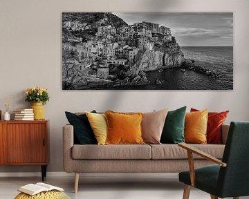 Manarola in Zwart Wit van Henk Meijer Photography