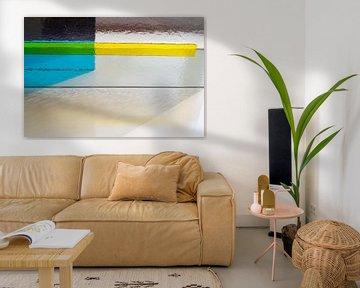 schöner getönter Glasdruck von Francisca Snel