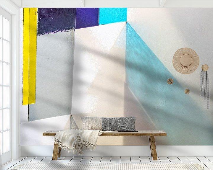 Beispiel fototapete: schöner Glasdruck von Francisca Snel