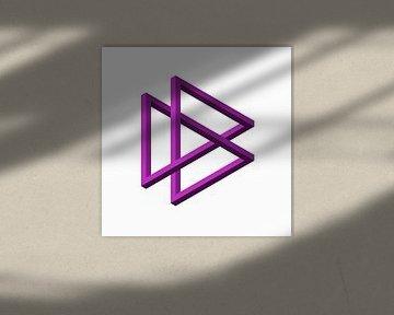 Dreifach-Penrose von Leeuwen Werk