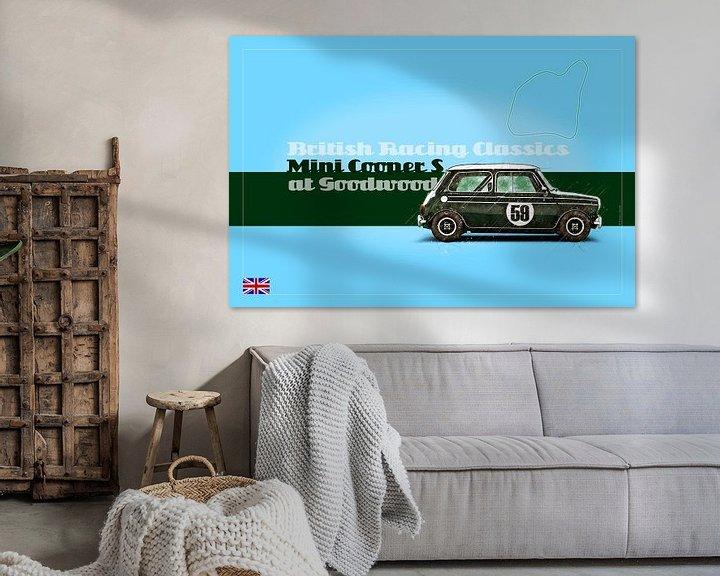 Beispiel: Mini Cooper S at Goodwood von Theodor Decker