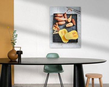 Pompoen en Zoete Aardappel van Sven Benjamins
