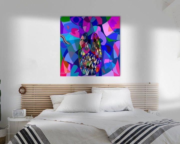Beispiel: Liebe und zusammen leben können als Wandkunst für Zuhause oder Büro Dekor Idee... von EL QOCH