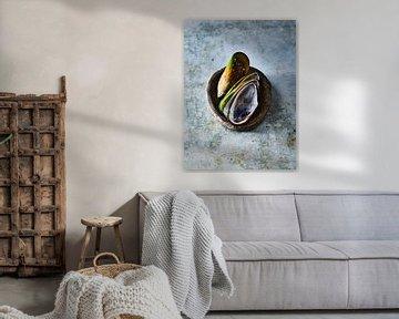 Groenlipmossel van Sven Benjamins