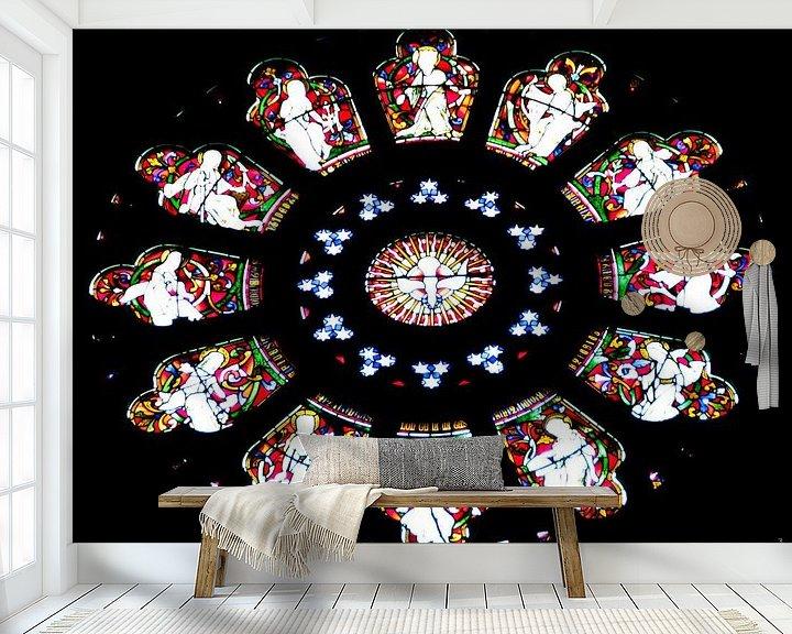 Sfeerimpressie behang: Arundel Cathedral van PJG Design