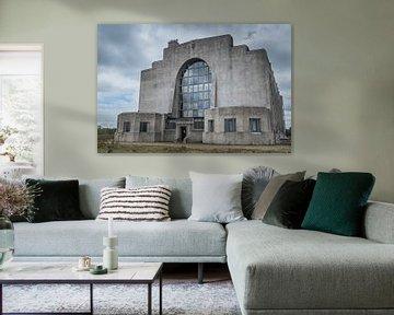 Radio Kootwijk gerades Gebäude von Tina Linssen