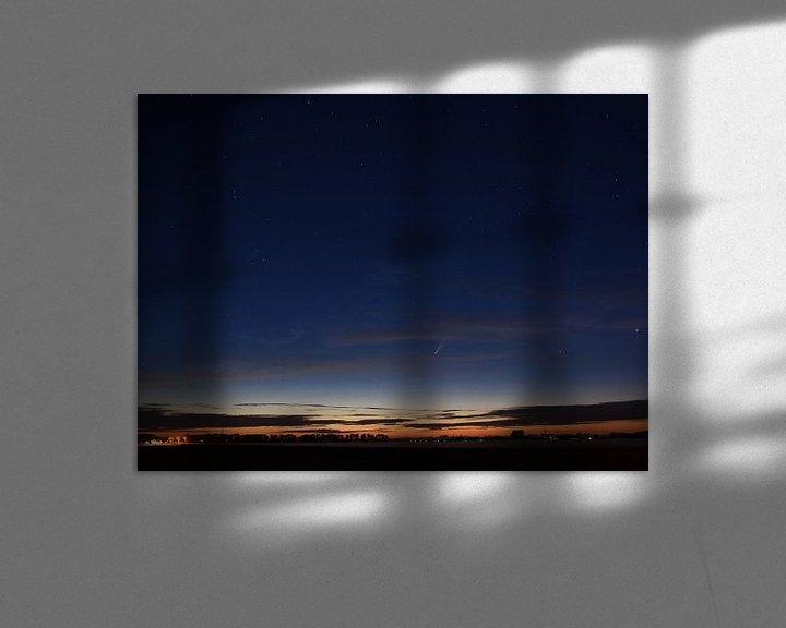 Beispiel: Komet Neowise in der Nacht von Piet Kooistra