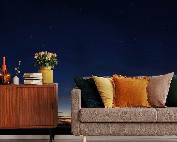Beispiel fototapete: Komet Neowise in der Nacht von Piet Kooistra