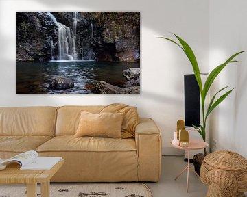 Verborgen waterval op Madeira van Melissa Peltenburg