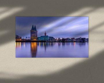 Lila Morgen - Skyline Roermond